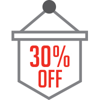 Up to 30% savings off regular price tickets