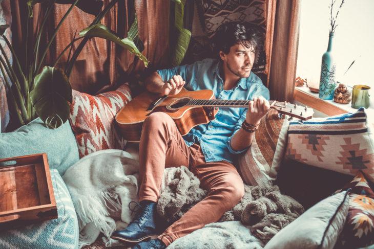 Matt Blais - Guitar Corner - By Cold Crow Design Co