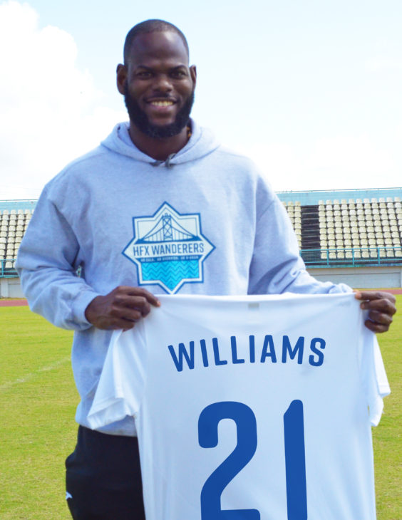 Jan-Michael Williams brings leadership qualities and international experience to the Wanderers.