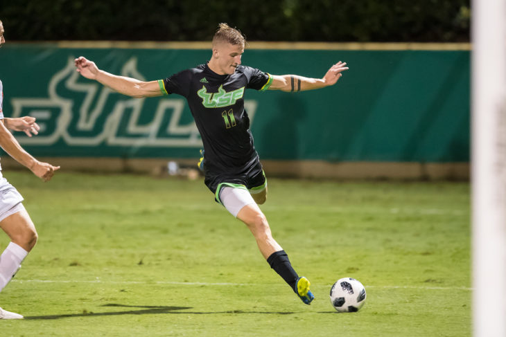 Skublak was top scorer for the South Florida Bulls last season with eight goals. Photo: USF Athletics.