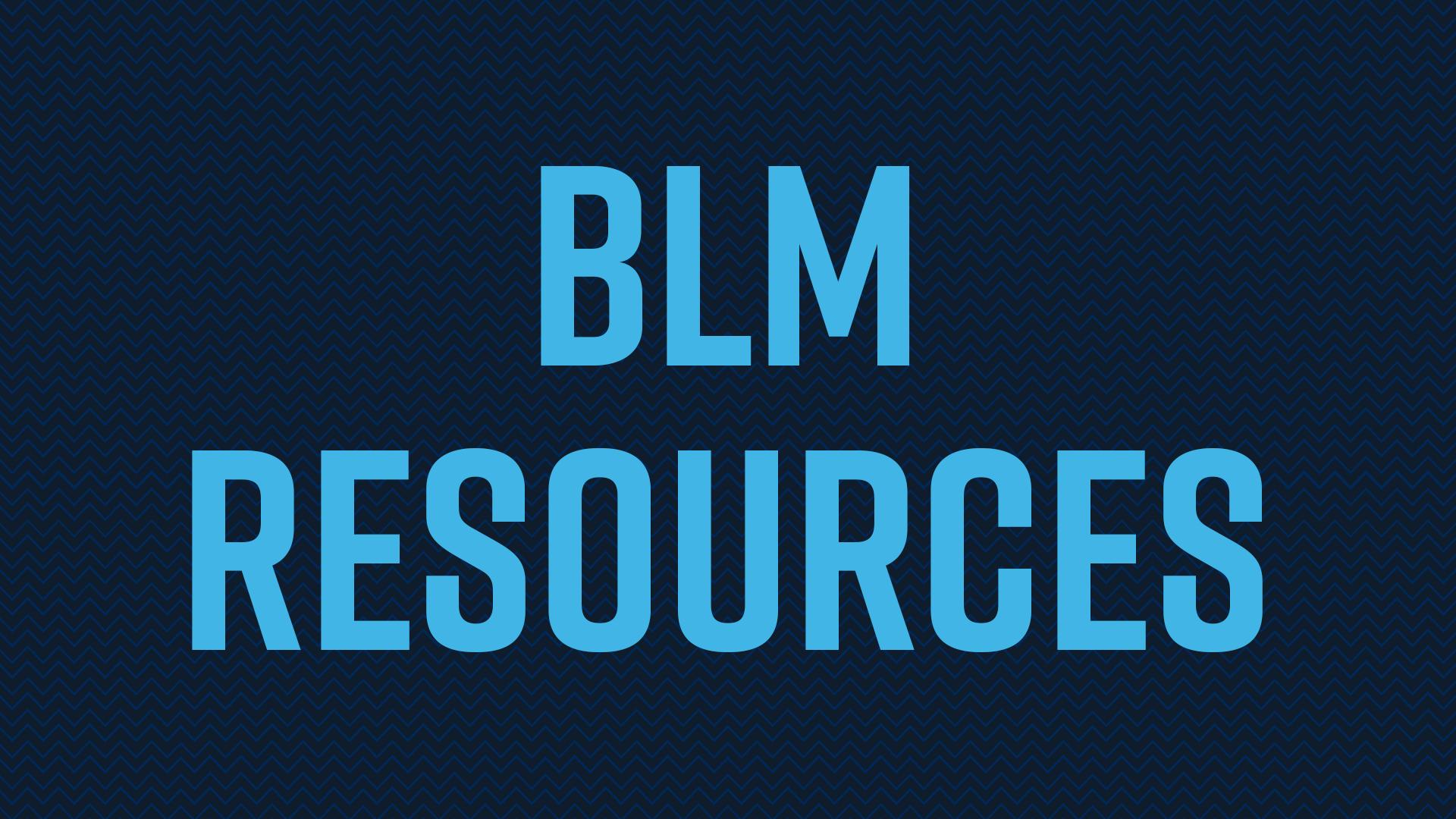 BLM resources