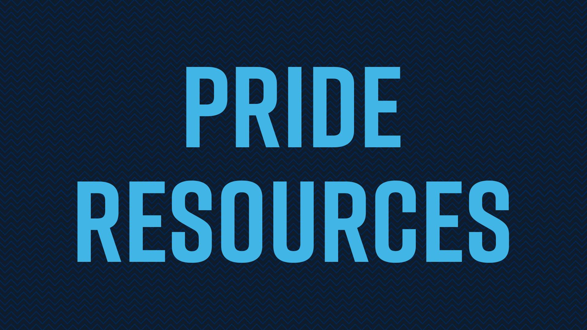 Pride resources