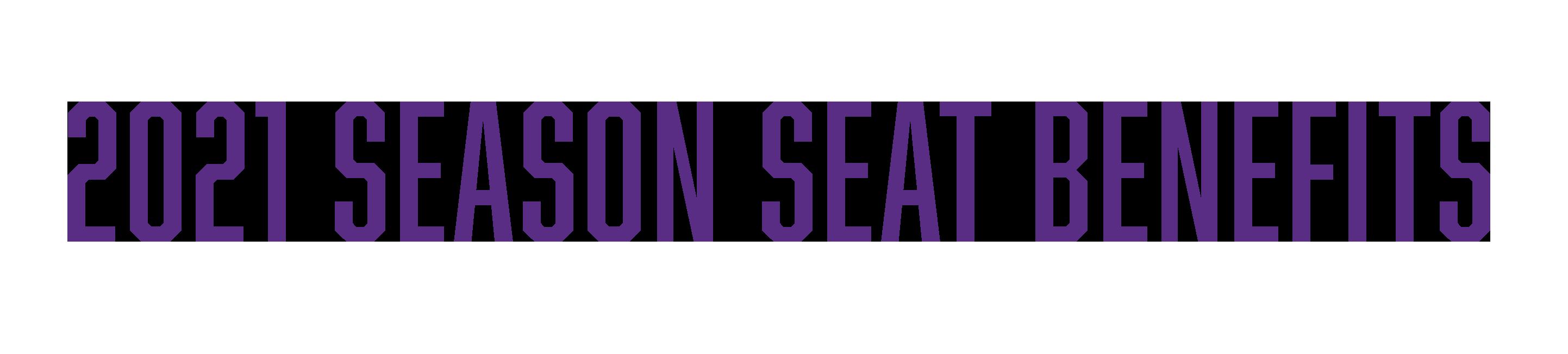 2021 Season Benefits Banner