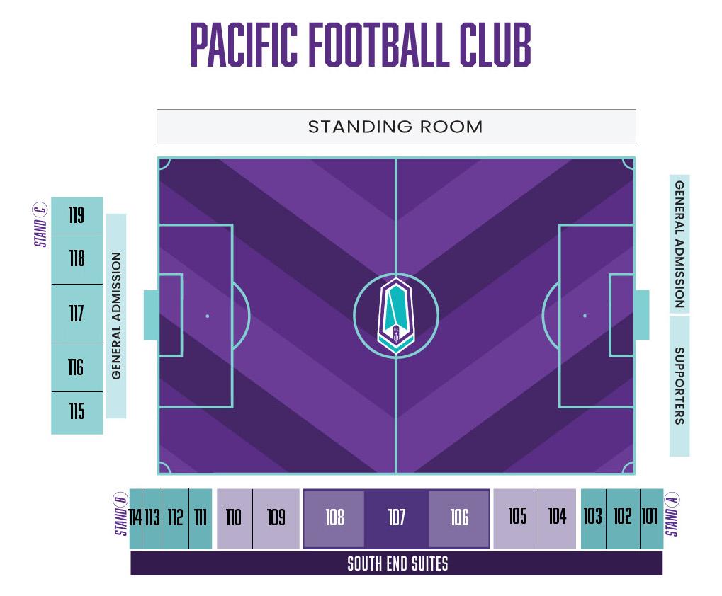 Stadium-map