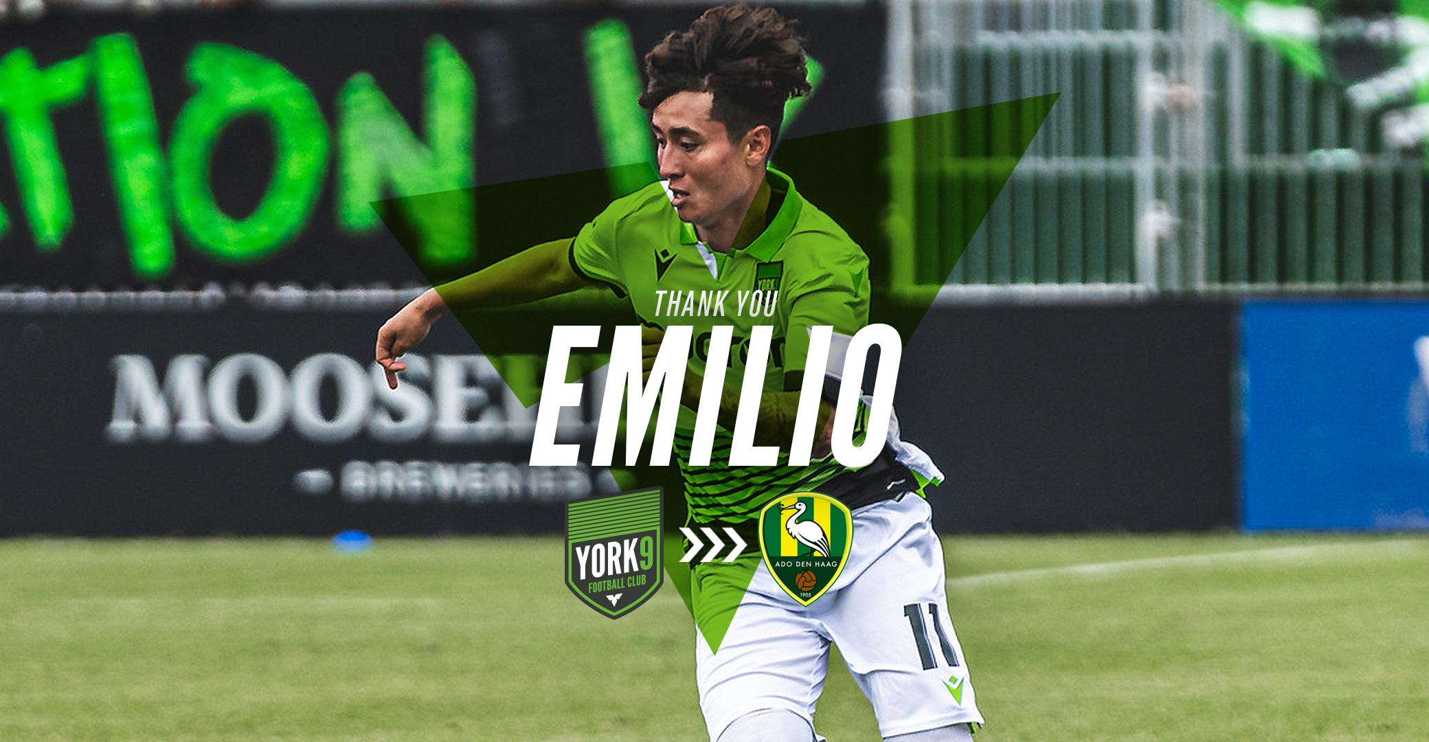 York9 Fc Transfers Midfielder Emilio Estevez To Dutch Eredivise Side Ado Den Haag York United Fc